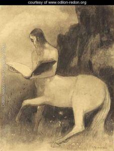Centaure-lisant