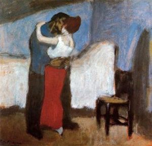 Lovers-picasso 1900