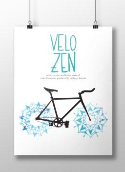 Velo Zen Poster