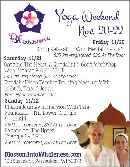 Natural Awakenings Ad - Blossom - Mandala_Mandala Photo
