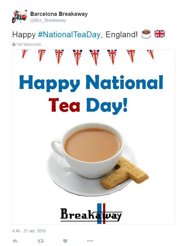 tea breakaway