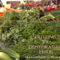 Freezing vs. Dehydrating Herbs