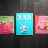 Lundi Like: 3 livres de princesses pas poches