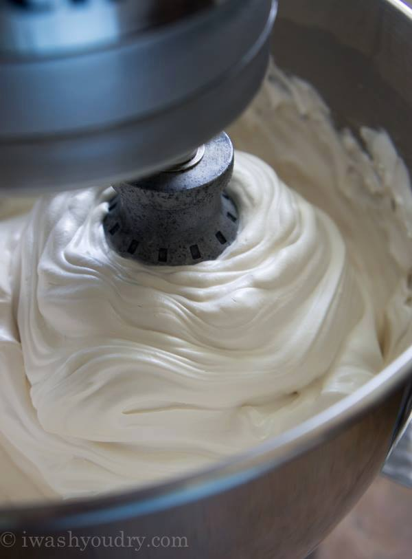 how to make fluffy icing