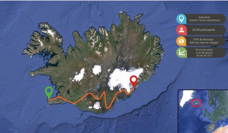 Islande - Parcours