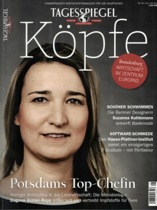 mariemeers in Tagesspiegel Koepfe August 2015