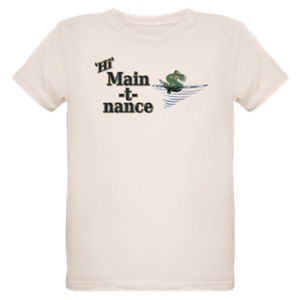 Organic Kids Shirt with boat name
