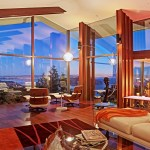 The spacious patio located off the kitchen and dining room is an  ideal area for entertaining or leisure with a dramatic backdrop  of panoramic Richardson Bay, Tiburon Peninsula, Angel Island, San  Pablo Bay, Oakland, Treasure Island and San Francisco Bay views.