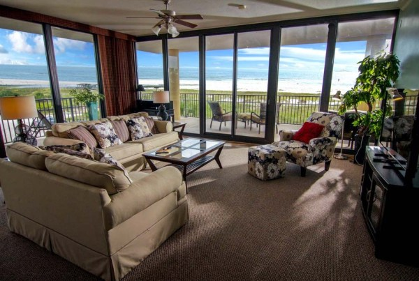 Holiday Isle Condo end unit
