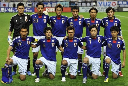 Japan-10-11-adidas-gold-number-home-kit-blue-white-blue-line-up