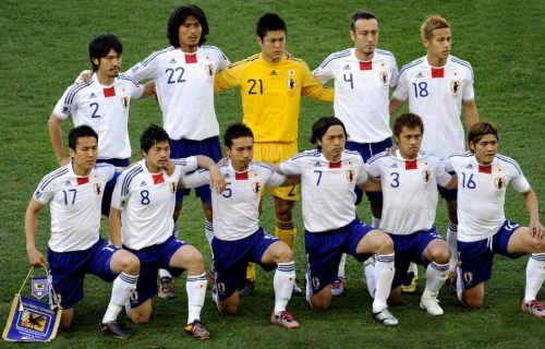 Japan-10-adidas-World20Cup-away-kit-white-blue-white-pose