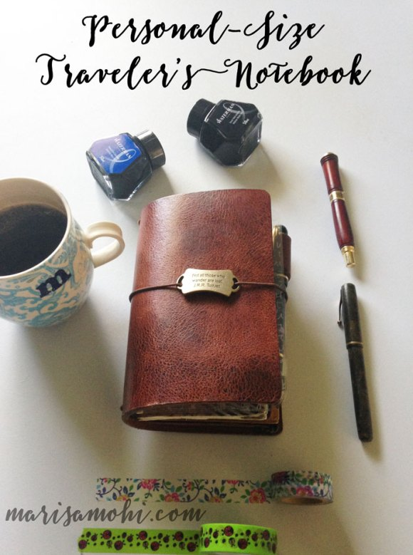 personal size traveler's notebook