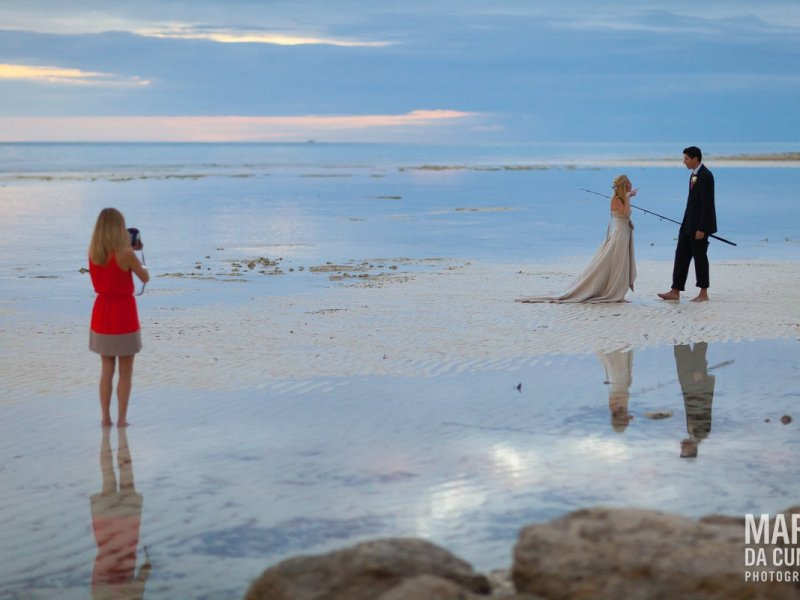 Beach Grand Bahama Island Bahamas Wedding