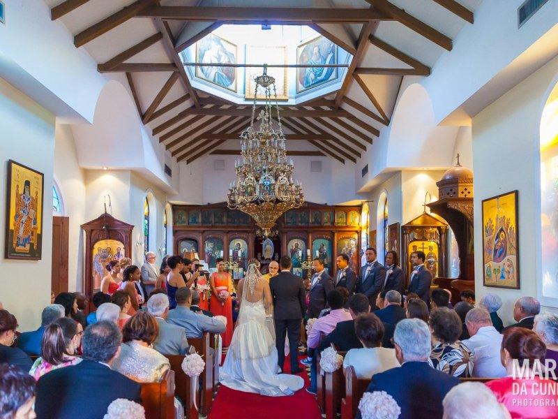Greek Orthodox Church Ceremony Nassau Bahamas Wedding