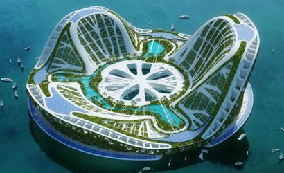 High-rise farms and floating cities – the future of Britain