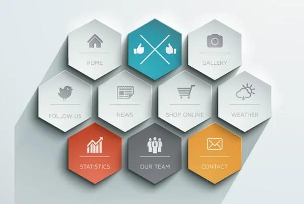 7 tendencias diseño web