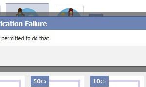 Authentication Failure