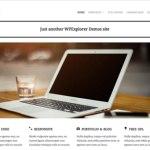 Adapt Free Responsive Business Portfolio WordPress Theme - WPExplorer