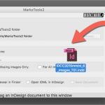 Markzware MarkzTools2 Drag and Drop to Convert InDesign to IDML