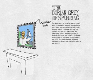dorian grey of spending