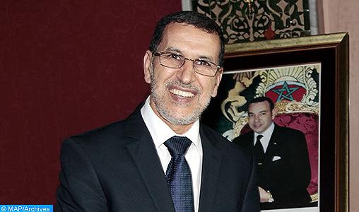 """Saâd Eddine El Othmani s'entretient avec des représentants de """"Dubaï Al Kabida"""" pour des investissements au Maroc"""