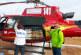 Chute de neiges: Série d'interventions des hélicoptères médicalisés