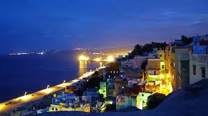 un séjour dans un appart pour 6 à 8 per à la Rés portes d'afrique Tanger