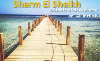 6 nuits en formule TOUT COMPRIS en 5* à Sharm El Sheikh