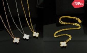 Colliers de luxe en plaqué Or/platine PROMO fin d'année