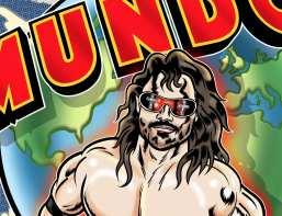 Mundo Wrestling Vector Artwork by Ian Marsden