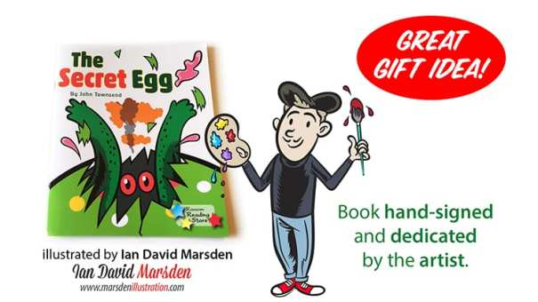 Order autographed children's book with dedication by Ian Marsden