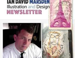 Ian Marsden illustration newsletter july 2016