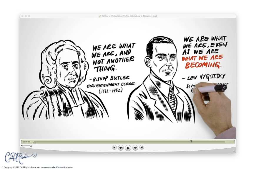 We Are What We Are - Whiteboard Video Production