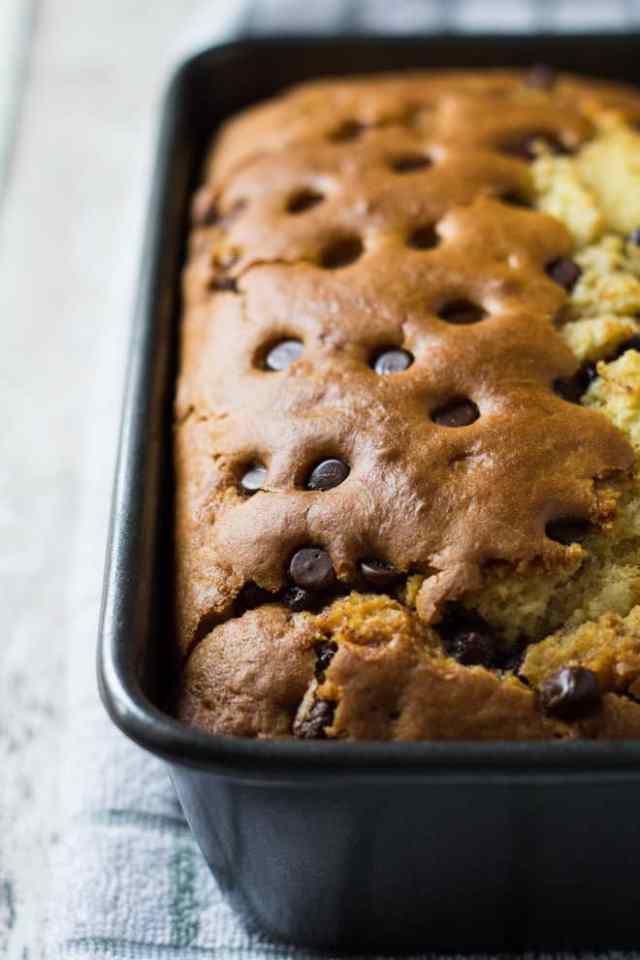 Glazed Chocolate Chip Orange Bread | Marsha's Baking Addiction