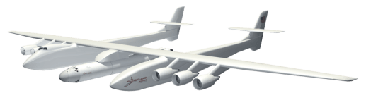Aftist version of the Stratolaunch system.