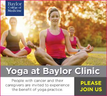 Marti Ewing teaches yoga at Baylor