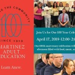 Martinez Adult Education marks 100th year