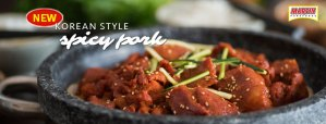 Korean Style Spicy Pork