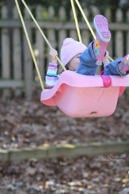 SOOC Natalie Swinging