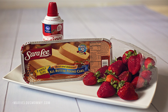 Sara Lee Strawberry Shortcake Ingredients