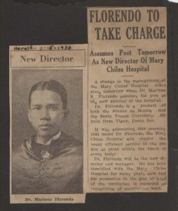 1934 Herald clipping