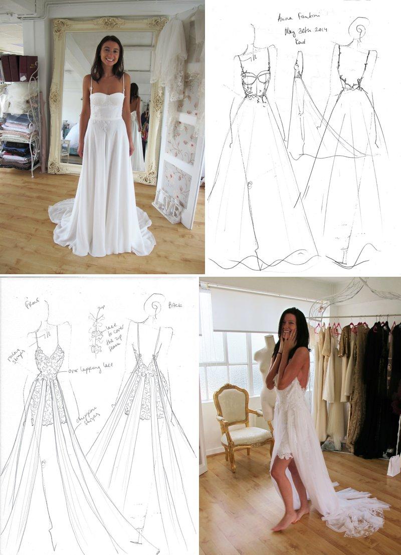 bespoke wedding dress handmade wedding dresses myedenbespokeweddinggownslondon1 Rock My Wedding