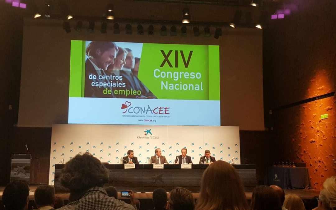 Más Social asiste al Congreso Nacional de Centros Especiales de Empleo, en Madrid.