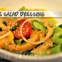 Japanese style Salad dressing