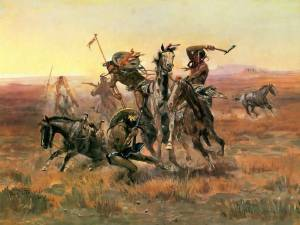 CM_Russell_When_Blackfoot_And_Sioux_Meet