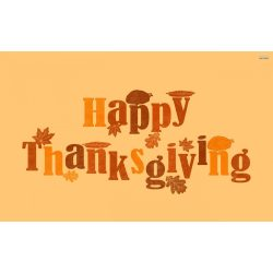 Small Crop Of Happy Thanksgiving Image