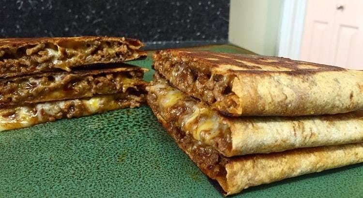 Flatout beef quesadilla mason woodruff