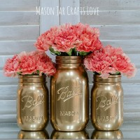 How To Spray Paint Jars