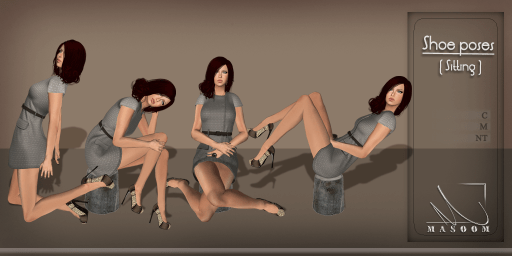 [[ Masoom ]] shoe poses(sitting)