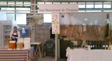 Maspalomas participó con queso, aceite y vino en la Feria Institucional de San Mateo
